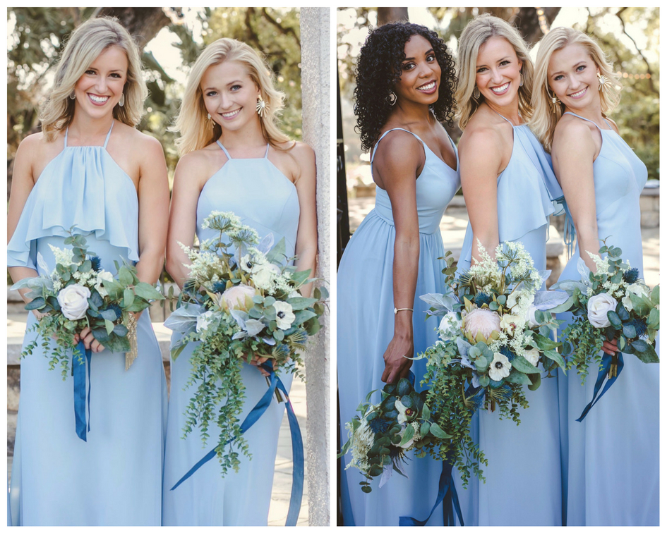 no matter your style, theses three styles have something that will flatter even the most picky bridesmaid.