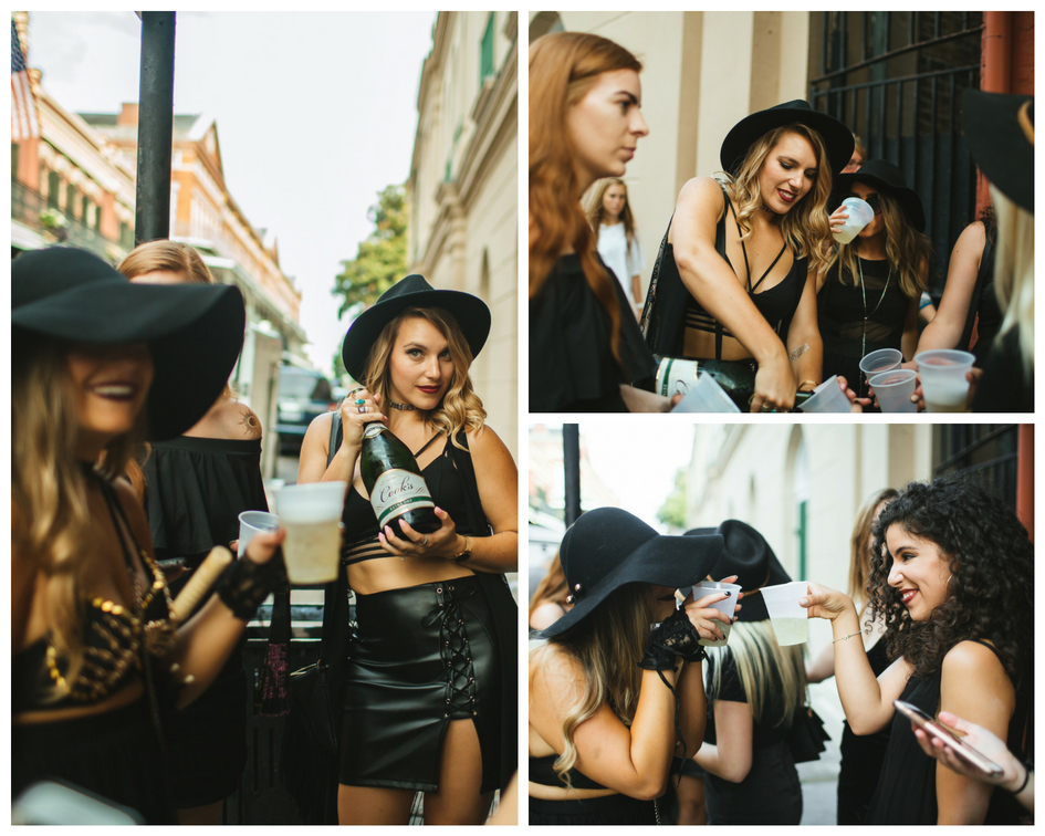 Party in the streets for this Bachelorette Coven.