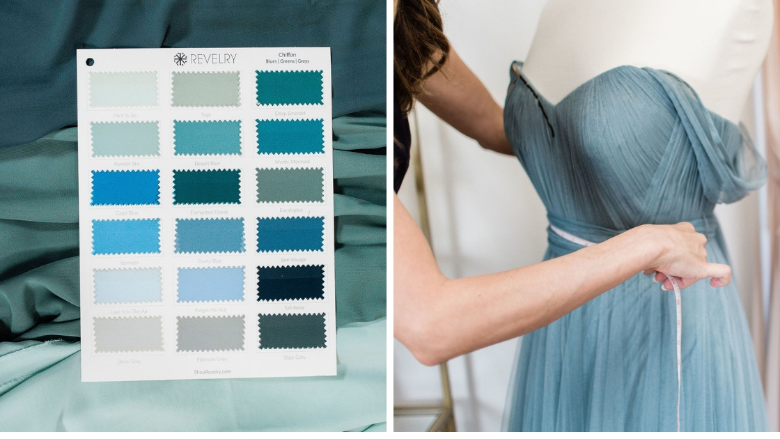 Chiffon blue swatch page different blues ombre colors tulle rosalie blue tulle dress measuring tape off the shoulder dresses