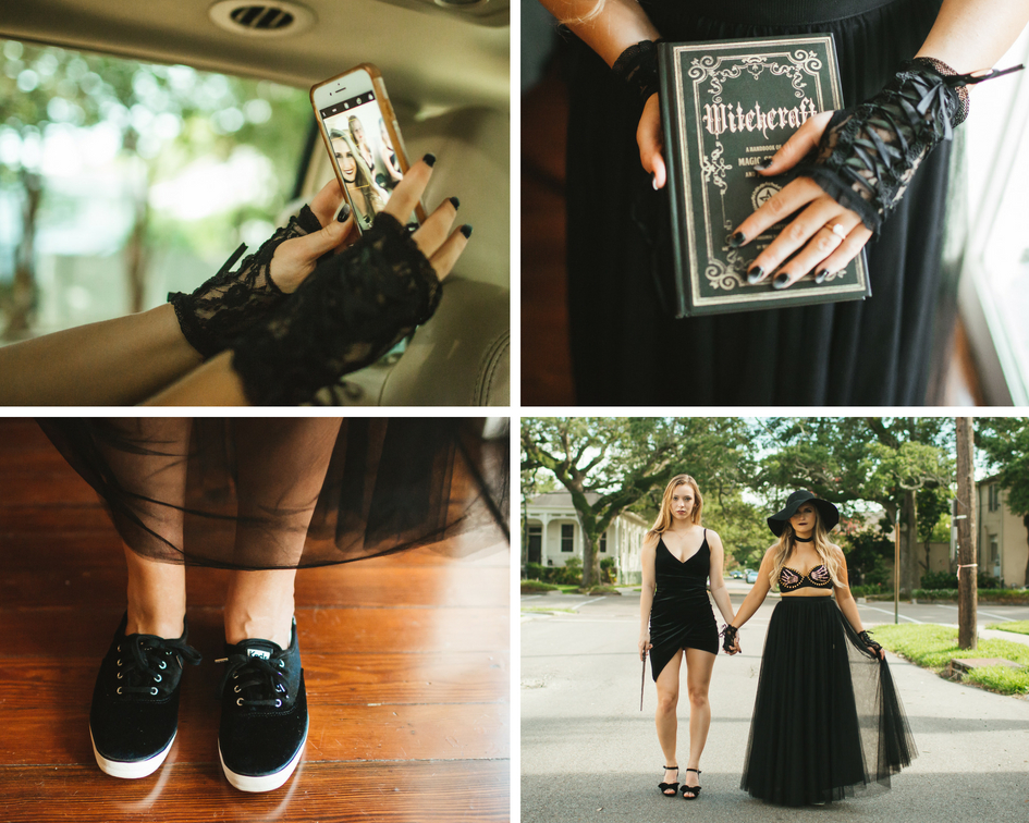 "all the witchy details for this coven themed bachelorette party for Rachel our ""Finally the Bride"" host."