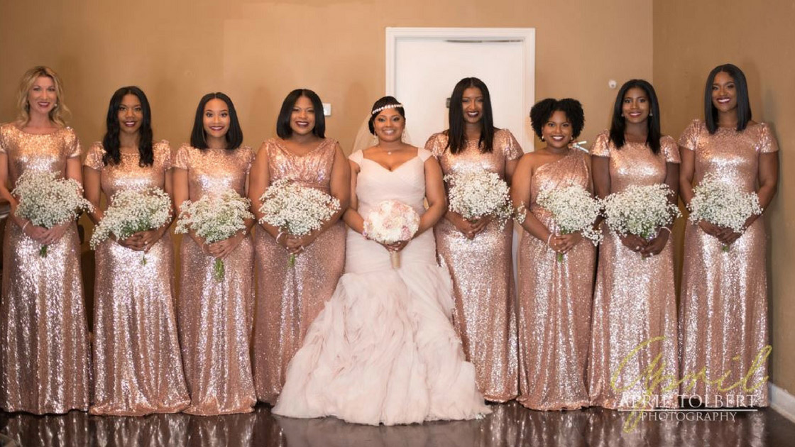 d06e5ab2f8c All That Glitters is Rose Gold for this Memphis Wedding - Revelry