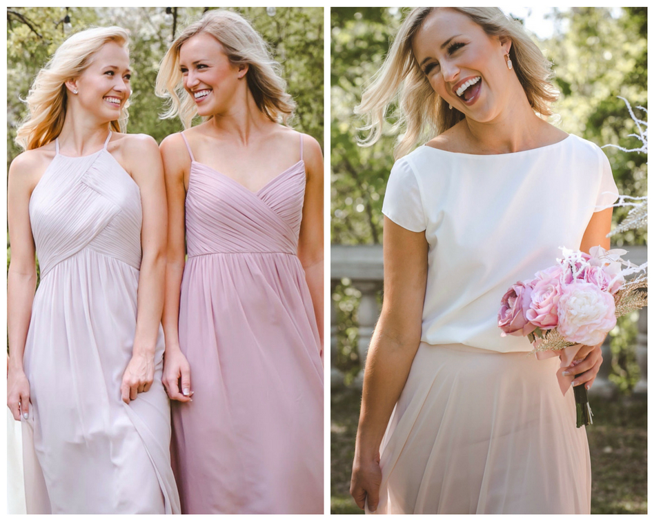 bridesmaids will smile in theses new summer 2018 styles from Revelry.