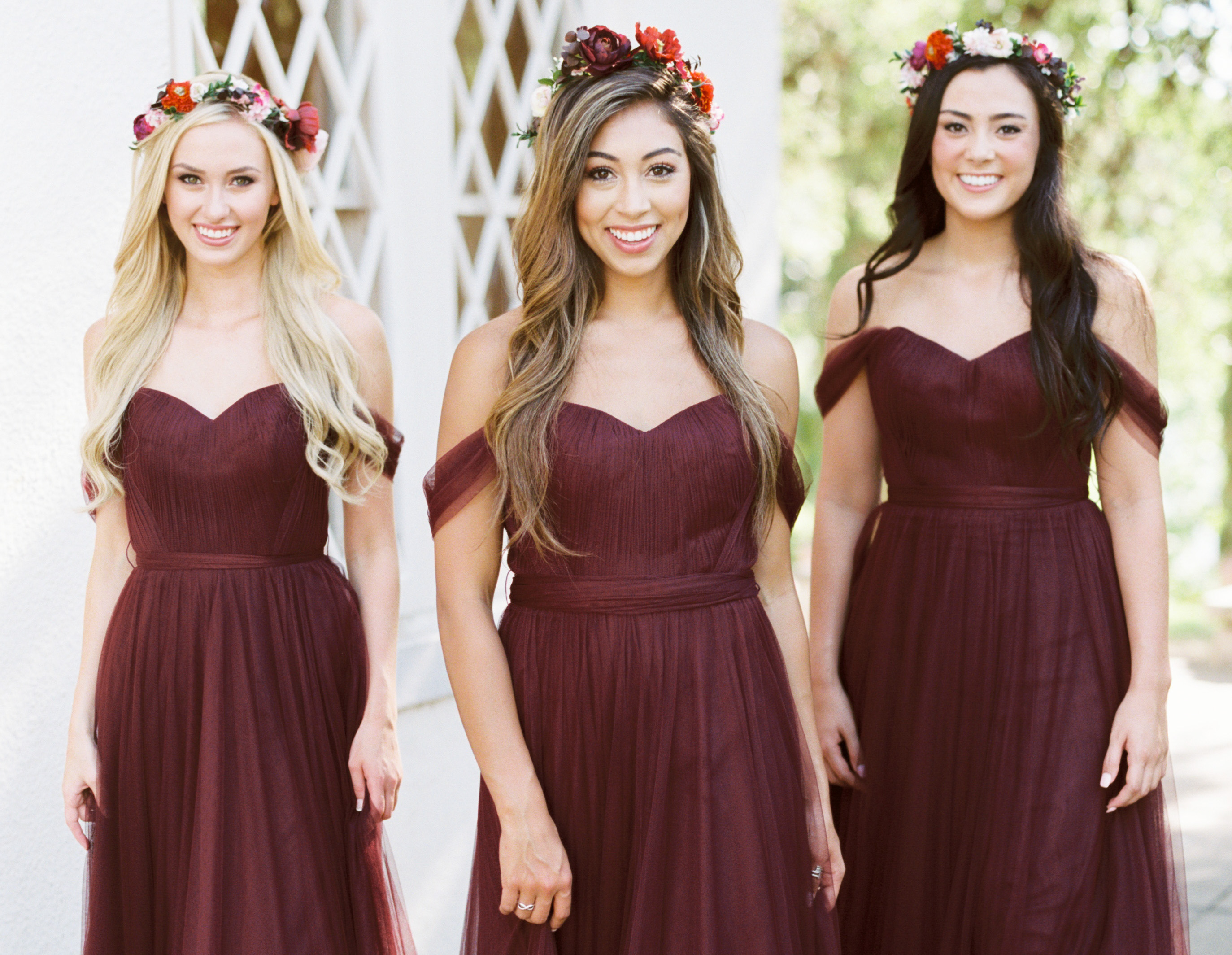 Tulle bridesmaid dresses revelry fall in love ombrellifo Image collections